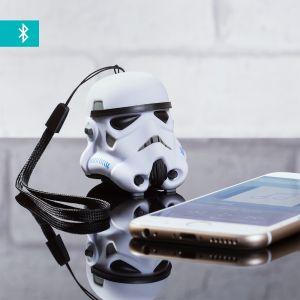 ThumbsUp! Mini Enceinte Bluetooth Stormtrooper avec dragonne