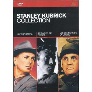 Coffret Stanley Kubrick 3 DVD : Le Baiser du tueur / L'Ultime Razzia / Les Sentiers de la gloire