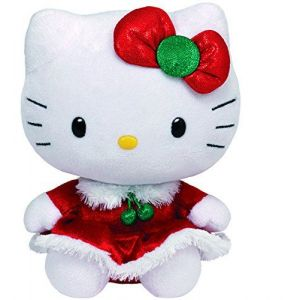 Ty Peluche Hello Kitty Noël 15 cm