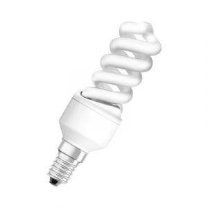 Osram 509062 Ampoule à économie d'énergie Duluxstar Nano Twist 9 W/840 en spirale (correspond à une ampoule de 45 W) 220-240 V, culot E14 Blanc froid 30 mm