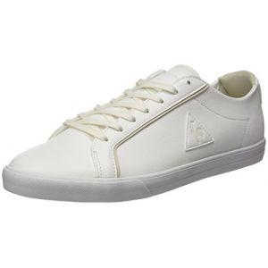 Le Coq Sportif Feret ATL Leather, Baskets Basses Homme, Blanc (Optical White/Turtle), 45 EU
