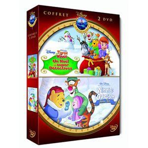 Coffret - Mes amis Tigrou et Winnie : Un Noël de super détectives + Winnie l'Ourson : Joyeux Noël [DVD]