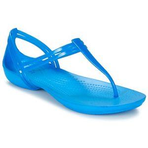 Crocs Sandales ISABELLA T-strap bleu - Taille 34 / 35,33 / 34