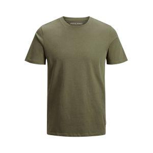 Jack & Jones T-shirts Jack---jones Organic Basic O-neck - Olive Night - M