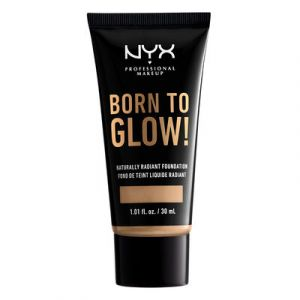 NYX Cosmetics Born To Glow Naturally Radiant Fondation Fond de Teint Fluide - Buff - Transparent