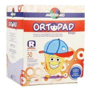 Ortopad Boys Grands Motifs Regular - Pansements orthoptiques adhésifs et occlusifs décorés