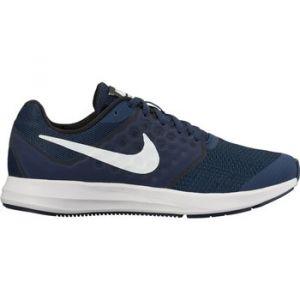 Nike Downshifter 7 (GS) Chaussures de Running garçon, Bleu (Midnight Navy/White-Dark Obsidian-Black) 38 EU