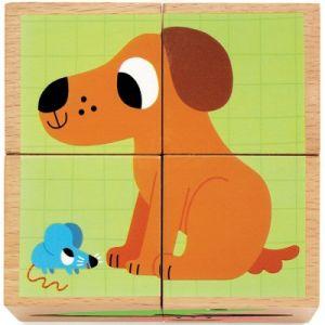 Djeco Puzzle en Bois - Wouaf & Co