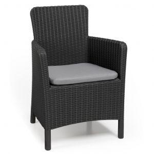 Allibert Trenton - Chaise de salle à manger jardin