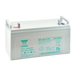 Yuasa Batterie plomb AGM NPL100-12FR 12V 100Ah M10-M