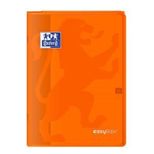 Oxford Cahier Easybook agrafé - 21 x 29,7 cm - 96p seyès - 90g - Orange