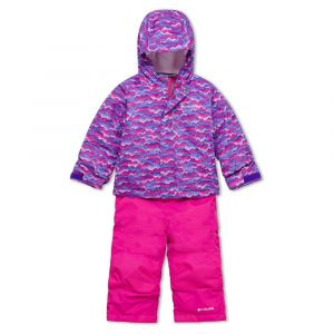 Columbia Combinaisons Buga Set - Pink Clover Trees - Taille 3 Années