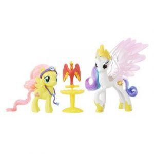 Hasbro Figurine My Little Pony Coffret amies pour la vie Princesse Celestia et Fluttershy