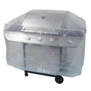 Ribimex PRH090130X70 - Housse de protection barbecue 130 x 70 x 80 cm