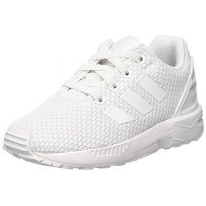big sale 9a4d2 50e7f Adidas Originals ZX Flux El I, Chaussures Marche mixte bébé, Blanc (Ftwbla