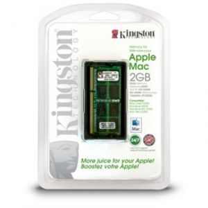 Kingston RAN3-1066/2G - RAM 2 Go DDR3 1066 MHz pour Apple Mac