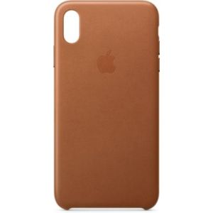 Apple Coque iPhone XS Max cuir Havane