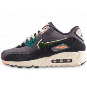Nike Air Max 90 Premium Se Grises Baskets/Running Homme