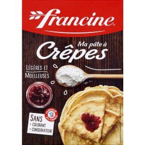 Francine Préparation pour crêpes, ma pâte à crêpes légères et moelleuses,