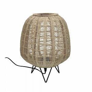 Pomax Lampe de table en Bambou 52cm ZENIT