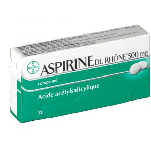 Bayer Aspirine du Rhône 500 mg - 20 Comprimés