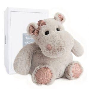 Histoire d'ours Peluche Girls & Glitter Hippo girl 25 cm