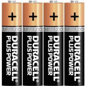 Duracell Pile 1,5v lr03 plus - Blister de 4
