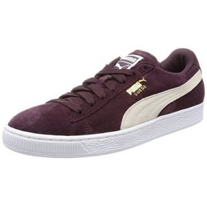 Puma Suede Classic, Sneakers Basses Femme, Violet (Winetasting-White), 41 EU