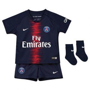 Nike Tenue de football 2018/19 Paris Saint-Germain Stadium Home pour Bébé - Bleu - Taille 12-18 - Unisex