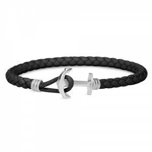 Paul Hewitt Bracelet Femme & Homme PHREP Lite - Cadeau Homme & Femme, Bracelet Cuir Ancre Marine