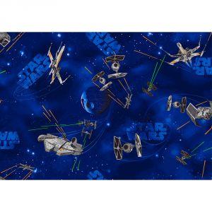 Tapis vaisseaux Star Wars (95 x 133 cm)