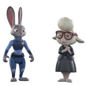 Tomy Figurines Judy Hopps et May Bellwether Zootopie