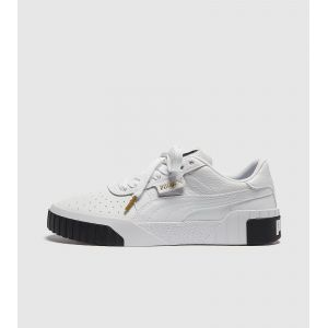 Puma Cali Wn's, Baskets Basses Femme Blanc White Black 04) 37 EU
