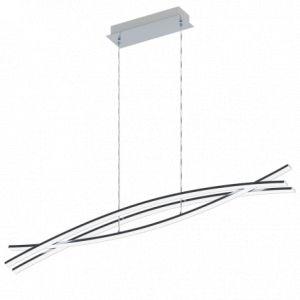Eglo Suspension chrome design Nevado LED L90 cm - Chrome