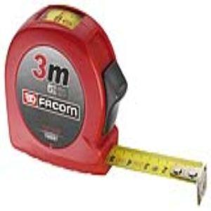 Facom 893.316F - Mètre ruban boîtier ABS 3 m avec fenêtre
