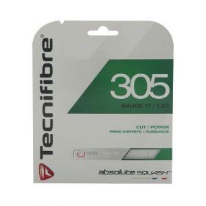 Tecnifibre TF Corde de Squash 305 Squash Vert 1.20 mm, 9,5 m de 122370