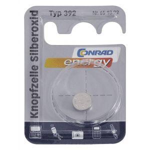 Conrad Pile bouton oxyde d'argent 392 1 pc(s) X39205
