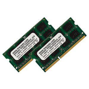 Barrettes mémoire 2 x 4 Go DDR3L 1600 MHz SoDimm