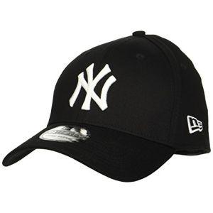 New Era Casquette 39 Thirty MLB NY Noir/Blanc ML