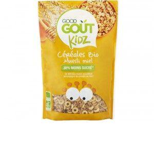 Good Goût Céréales Muesli Miel Bio Dès 3 Ans 300 g - Lot de 3