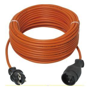 Ribitech PREPJ40315R - Prolongateur electrique de jardin 3500W 40m