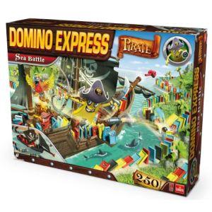 Goliath Domino Express Bateau Pirate - Sea Battle