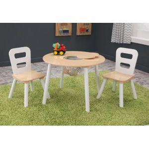 KidKraft 27027 - Table ronde et ses deux chaises