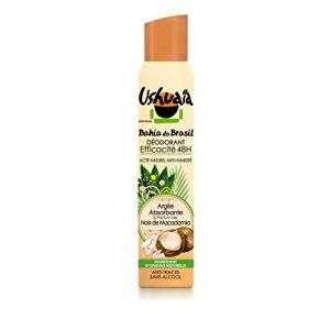 Ushuaïa Bahia do Brasil - Déodorant à l'Argile Absorbante & Parfum de Noix de Macadamia
