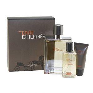 Hermès Terre d'Hermès - Coffret eau de toilette, gel douche et baume après-rasage