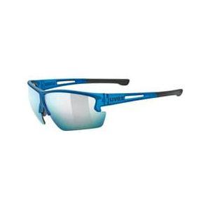 Uvex Sportstyle 812 Mirror S3 - Lunette vélo gris/bleu/blanc