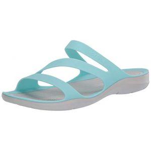 Crocs Women's Swiftwater Sandal - Sandales de marche taille W7, gris