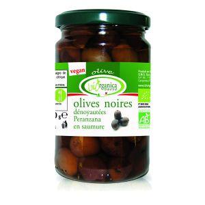 Biorganica nuova Olives noires dénoyautées aux herbes - 280g