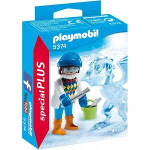 Playmobil 5374 SpecialPlus - Sculpteur de glace