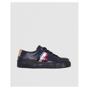 Tommy Hilfiger Chaussures avec drapeau pailleté Bleu marine - Taille 39